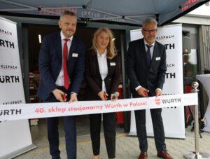 Würth Polska otworzył 40. sklep stacjonarny