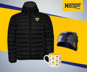 Konkurs Hengst Filter: do wygrania zestaw gadżetów z jesienno-zimową kurtką!