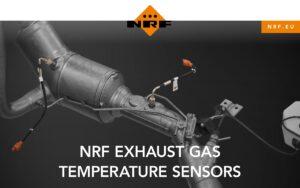 Czujniki temperatury spalin w ofercie NRF